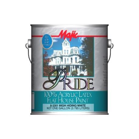 Ekskluzywna farba elewacyjna akrylowa Pride 100% ACRYLIC LATEX 8-3300