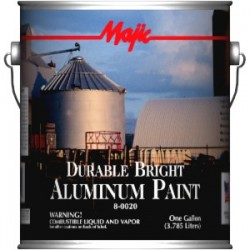 Farba aluminiowa odporna na temperaturę 320C Majic  ALUMINUM PAINT