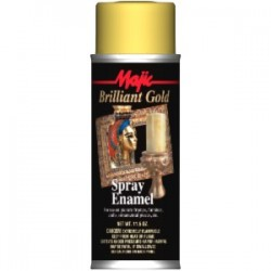 złota farba w sprayu MAJIC BRILLIANT SPRAY ENAMEL 8-20132 dekoracyjna