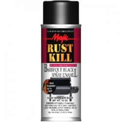 Farba na temperaturę żaroodporna MAJIC RUST-KILL BARBEQUE BLACK SPRAY