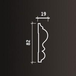 Listwa dekoracyjna ścienna wzór 1.51.303