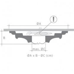 Rozeta klasyczna R08