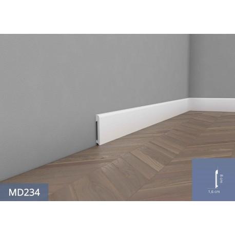 Listwa przypodłogowa MD234 biała