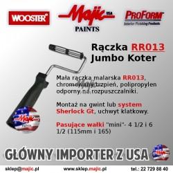 Profesjonalna rączka do odcięć Jumbo-Koter RR013 na mały wałek malarski