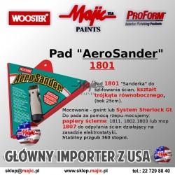 Aero Sander - Szlifowanie gładzi gipsowej 1801