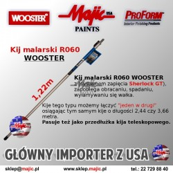 Profesjonalny kij malarski z gwintem systemowym Sherlock GT Javelin R060 - Wooster