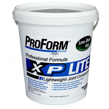 XP Gotowa Masa Szpachlowa 1kg z technologią Dust-Tech