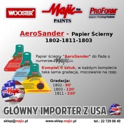 Aero Sander - Szlifowanie gładzi gipsowej papier ścierny wkład