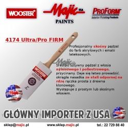 Profesjonalny skośny pędzel do farb akrylowych i emalii lateksowych - WOOSTER