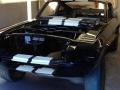 Komory silnika malowane farba Majic Paints Black Gloss