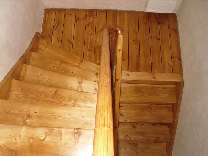 lakierowana podłoga